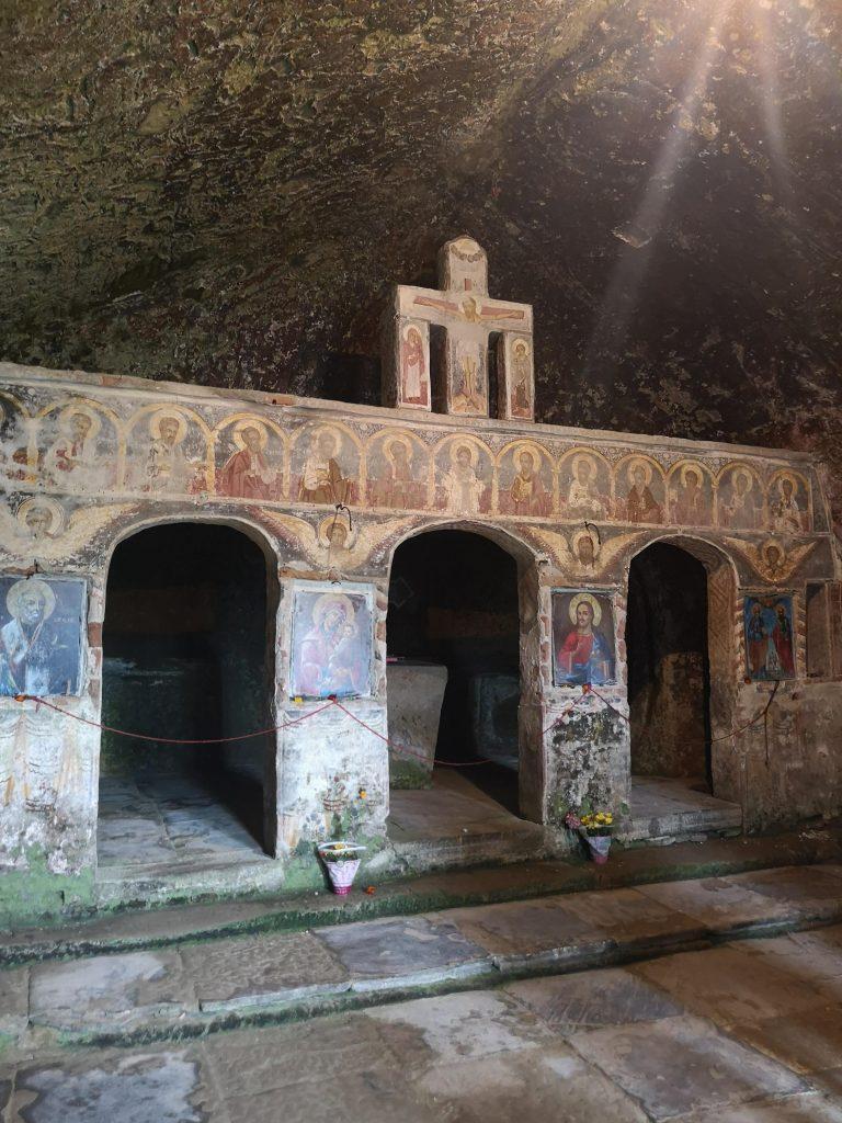 Mânăstirea Corbi interior
